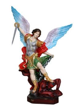 Statua San Michele Arcangelo  cm. 30 ali aperte