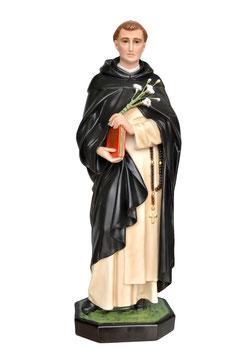 Statua San Domenico di Guzman cm. 82 in vetroresina