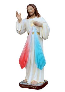 Statua Gesù Misericordioso cm. 40 in resina