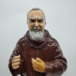 Statua San Padre Pio cm. 40 con trattamento lucido