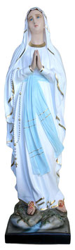 Statua Madonna di Lourdes in vetroresina cm. 155