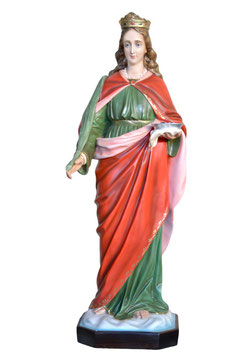 Statua Santa Lucia cm. 130