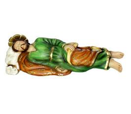 Statua San Giuseppe dormiente cm 40