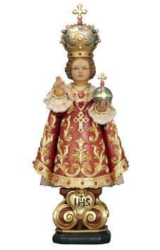 Statua Gesù Bambino di Praga in legno