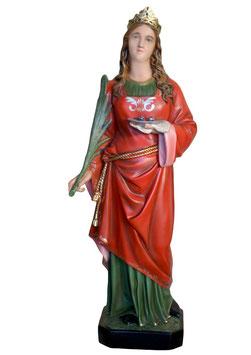 Statua Santa Lucia cm. 107 in vetroresina