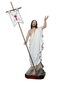 Statua Gesù risorto cm. 40 in resina