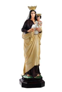 Statua Madonna del Carmine in resina cm. 83
