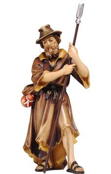 Statua pecoraio in legno
