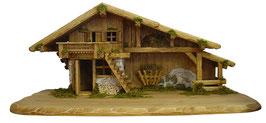 Capanna in legno per presepe mod. 029