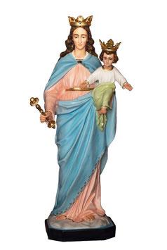 Statua Maria Ausiliatrice in vetroresina cm. 130