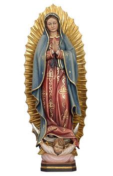 Statua Madonna di Guadalupe in legno