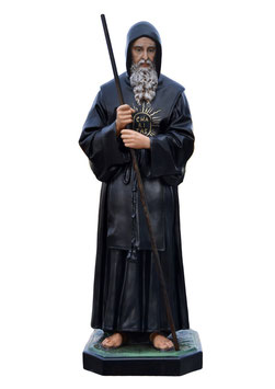 Statua San Francesco di Paola cm. 170