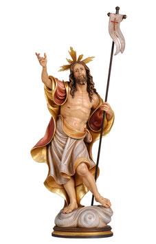 Statua Gesù risorto in legno