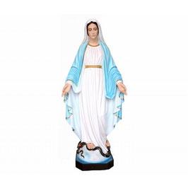 Statua Madonna Miracolosa in vetroresina cm. 160 nuovo modello