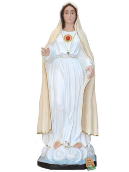 Statua Madonna di Fatima - II apparizione cm. 180 in vetroresina