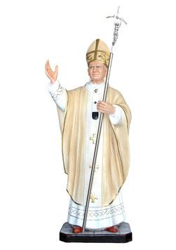 Statua Papa Giovanni Paolo II cm. 130 in vetroresina
