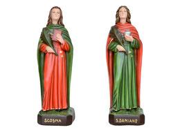 Statua Santi Cosma e Damiano cm. 60