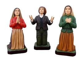 Statue tre pastorelli di Fatima cm 85