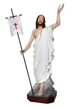 Statua Gesù risorto cm. 60 in resina