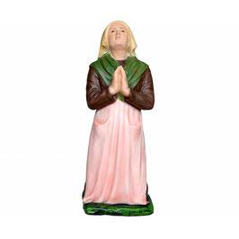 Statua Santa Bernadette cm 38