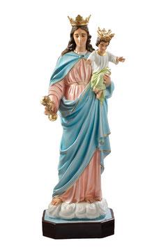 Statua Maria Ausiliatrice in vetroresina cm. 120