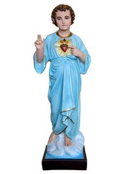 Statua Santissimo nome di Gesù cm. 85 in vetroresina