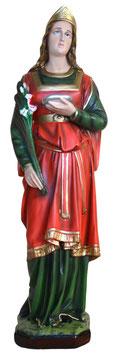 Statua Santa Lucia cm. 65 in resina