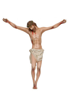 Statua Corpo di Cristo in vetroresina cm. 80