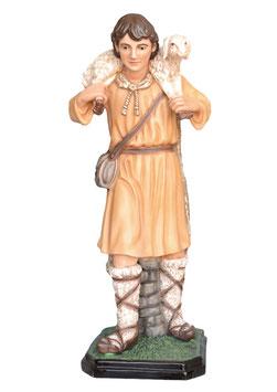 Statua Pastore per presepe in resina cm. 100