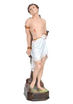 Statua San Sebastiano  cm. 40 in resina