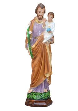 Statua San Giuseppe cm. 64 in resina