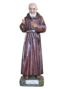 Statua San Padre Pio da Pietrelcina cm. 90 in vetroresina