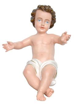 Statua Gesù Bambino tipo M cm. 35