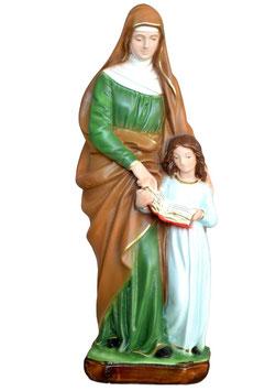 Statua Sant ' Anna cm. 30 in resina