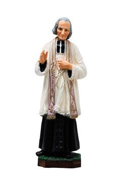 Statua San Curato d' Ars cm. 30 in resina