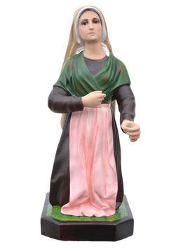 Statua Santa Bernadette cm. 65 in resina