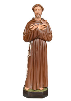 Statua San Francesco d' Assisi cm. 150
