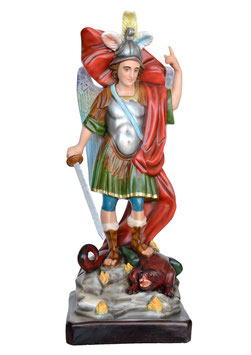 Statua San Michele cm. 90