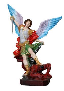 Statua San Michele cm. 20 ali aperte