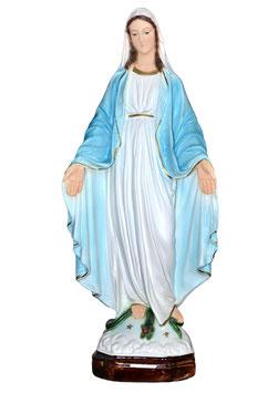 Statua Madonna Miracolosa in resina cm. 47