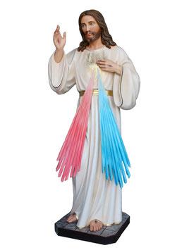 Statua Gesù Misericordioso cm. 180 in vetroresina