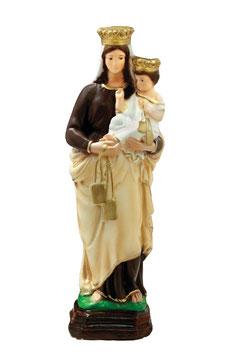 Statua Madonna del Carmine in resina cm. 35