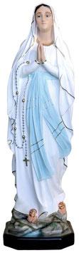 Statua Madonna di Lourdes in resina cm. 105