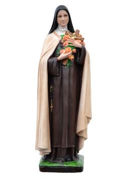 Statua Santa Teresa di Lisieux cm. 40 in resina