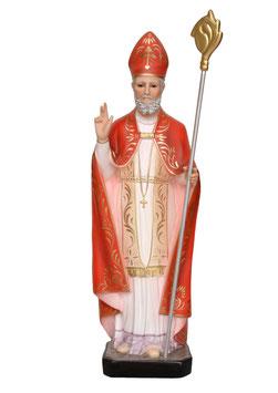 Statua San Biagio cm. 75 in vetroresina