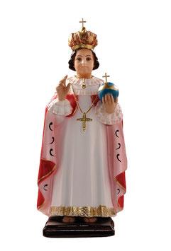 Statua Gesù Bambino di Praga in resina cm. 45