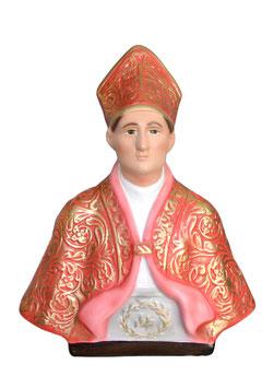 Statua San Gennaro cm. 37 in resina - busto