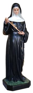 Statua Santa Rita da Cascia cm. 130 in vetroresina