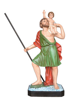 Statua San Cristoforo cm. 120