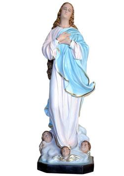 Statua Madonna Assunta del Murillo in vetroresina cm. 130